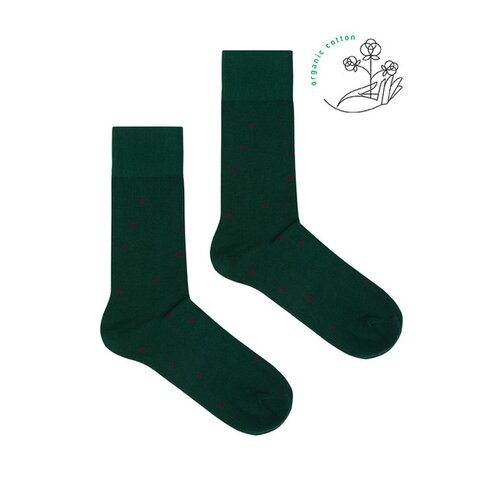 Kabak - Green bottle - Socks - Organic Cotton