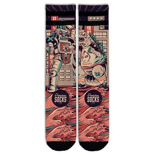American Socks - Godzilla - Socken - Signature - Mid High